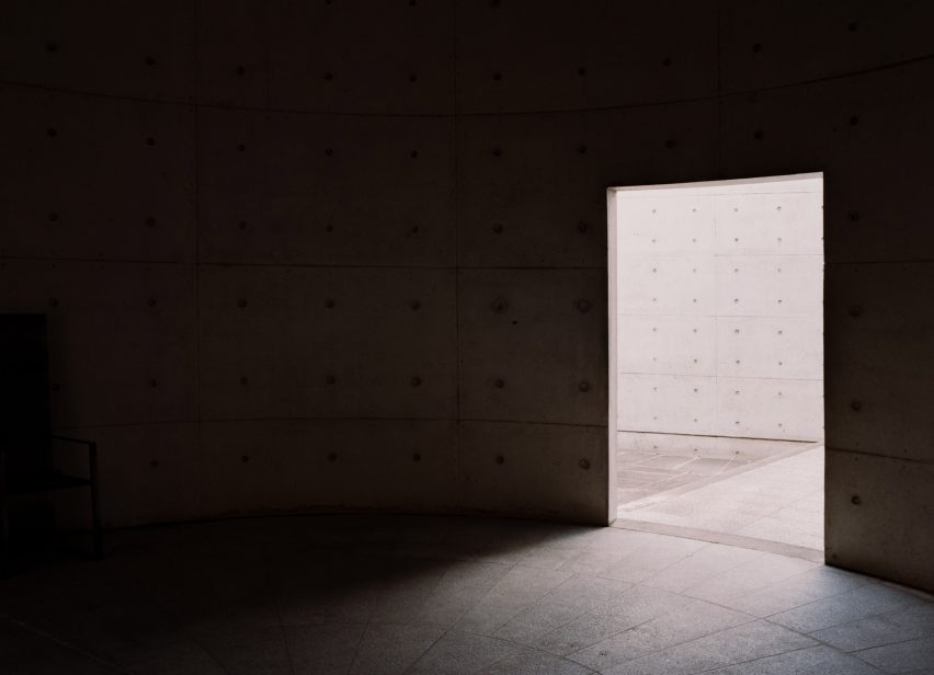 Tadao Ando Meditation Space photographed by Simone Bossi
