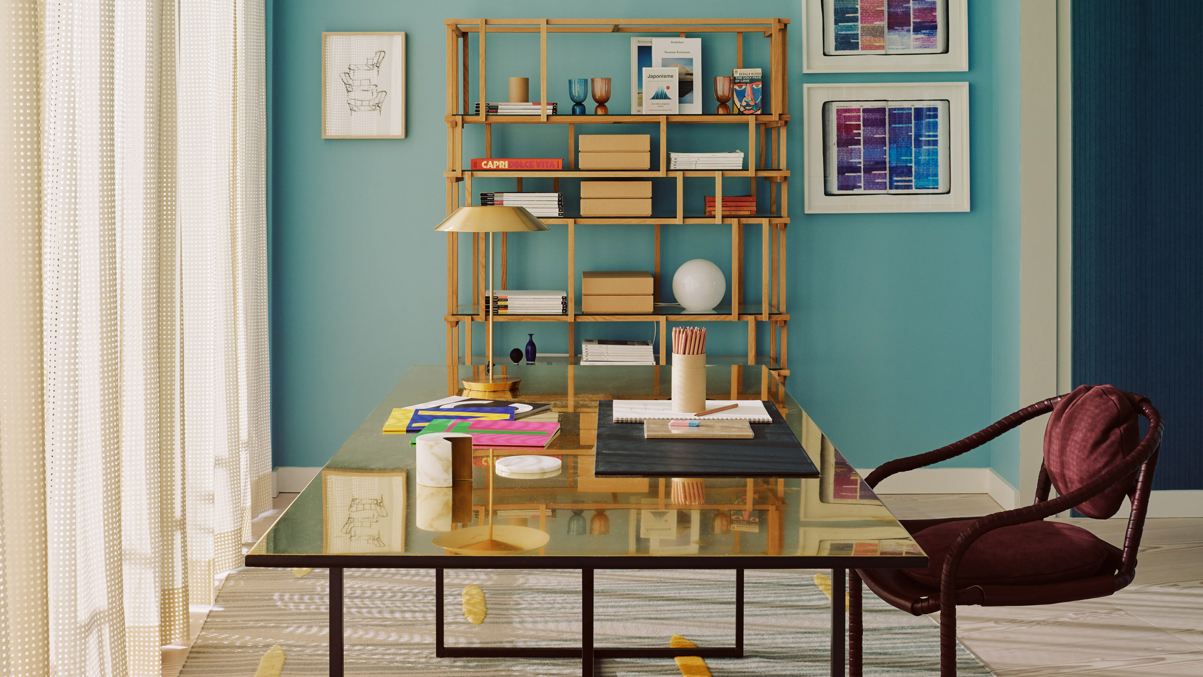 Eight home offices with stylish set-ups for remote working