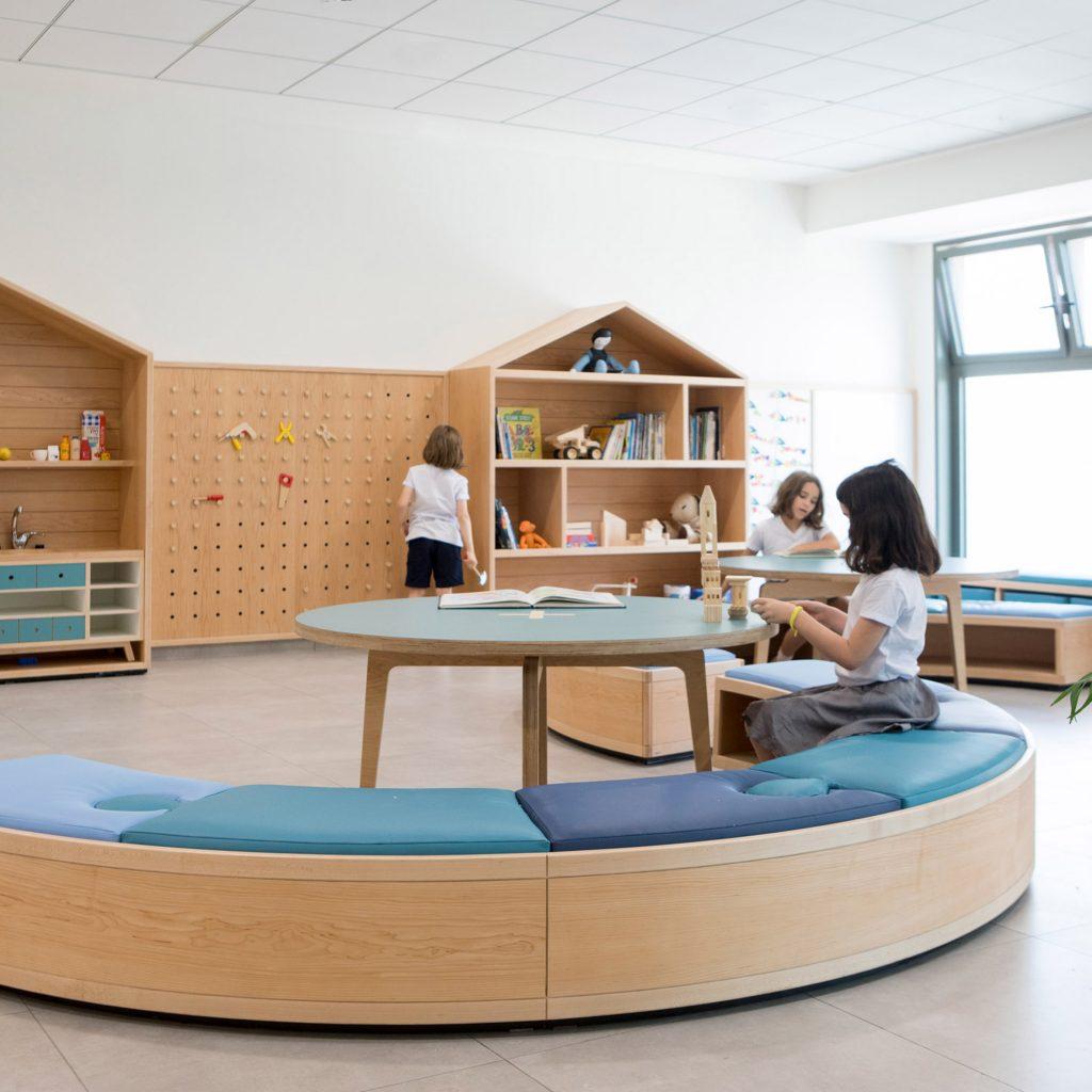 "Sarit Shani Hay designs Tel Aviv school for ""joyful experiential learning"""