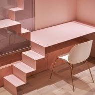 Ten pink interiors that range from rose blush to bright coral