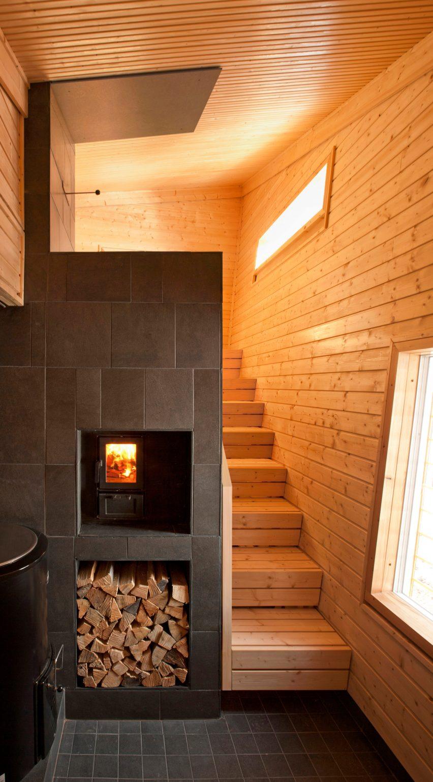 Toni Yli-Suvanto's sauna