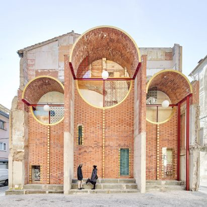 Emergency Scenery public shelter in Olot by Unparelld'arquitectes