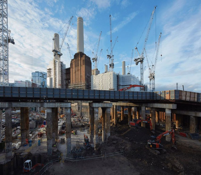 Battersea Power Station by Dennis Gilbert