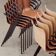 Fritz Hansen rereleases Vico Duo chair by Vico Magistretti