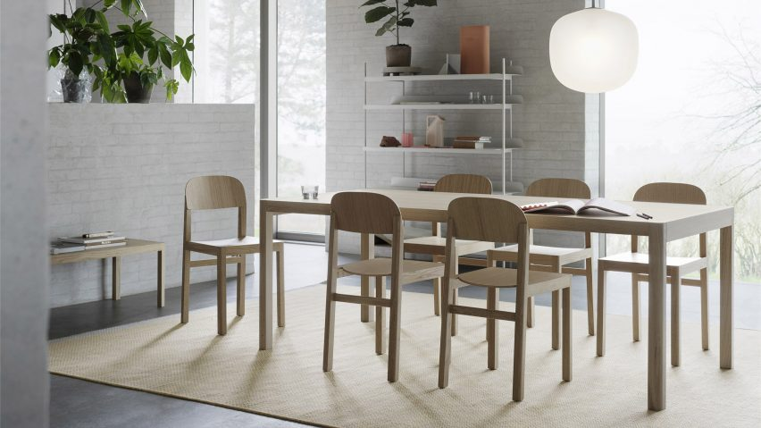 Workshop Table by Cecilie Manz for Muuto