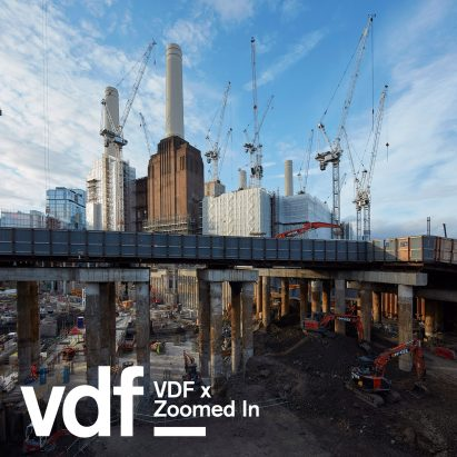 Battersea Power Station undergoing redevelopment. ©Dennis Gilbert/VIEW