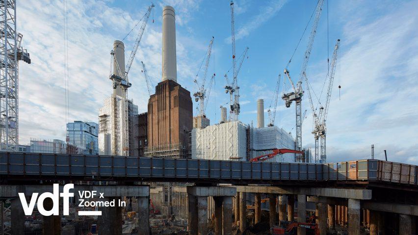 Battersea Power Station undergoing redevelopment. ©Dennis Gilbert/VIEW