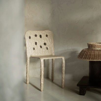 ZTISTA organic chair by Victoria Yakusha for Faina