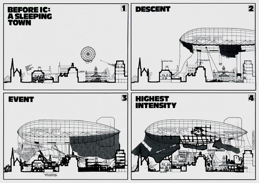 Instant City by Archigram