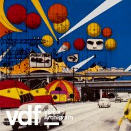"""Archigram's Instant City concept enables """"a village to become a kind of city for a week"""" says Peter Cook"""