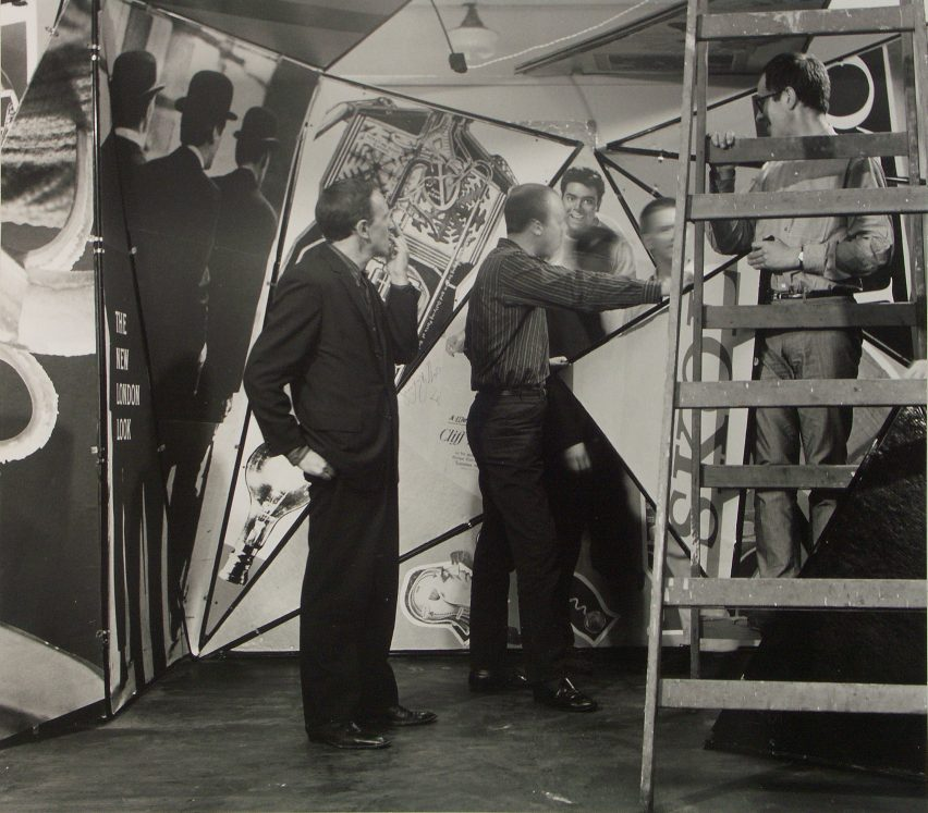 Archigram Living City exhibition at the iCA in London in 1963