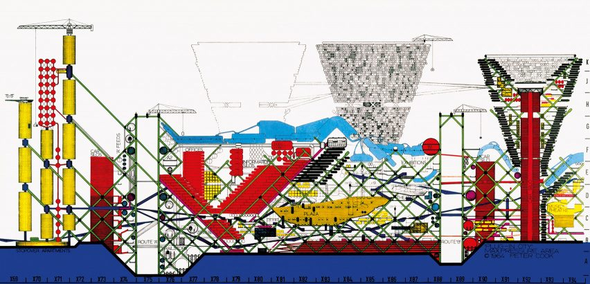 Plug-In City by Archigram