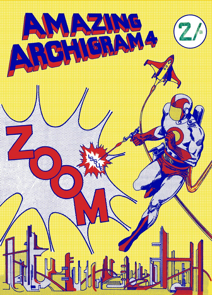 Issue four of Archigram magazine