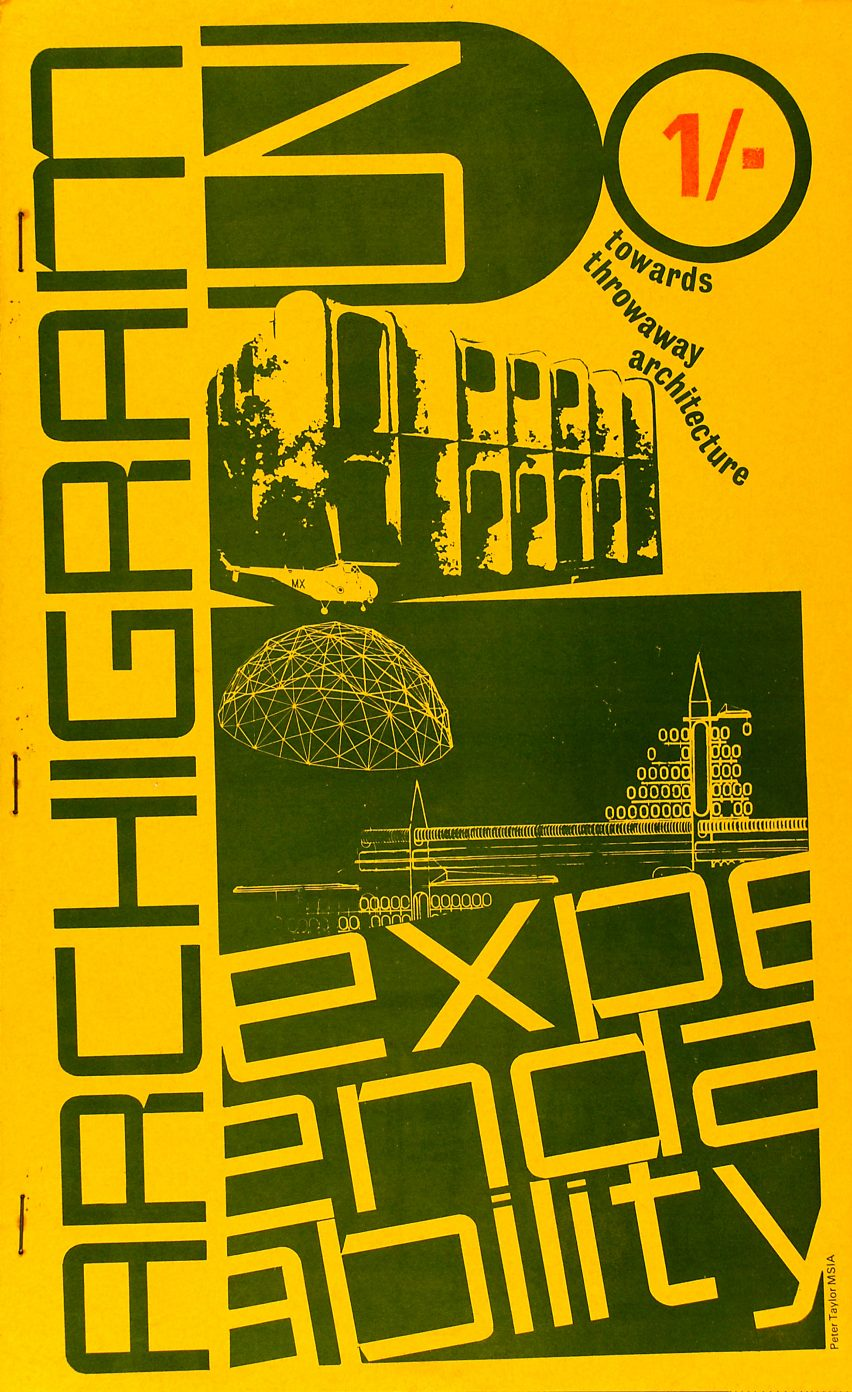 Issue three of Archigram magazine