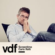 Live interview with architect Carlo Ratti as part of Virtual Design Festival