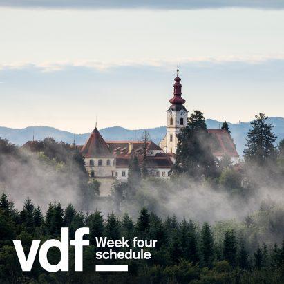 VDF week four schedule