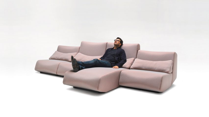 Absent sofa by Numen/ForUse for Prostoria