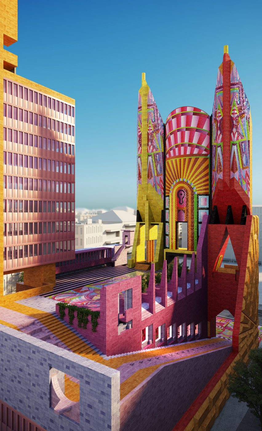 New Democratic Monument by Adam Nathaniel Furman