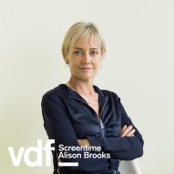Live interview with architect Alison Brooks as part of Virtual Design Festival