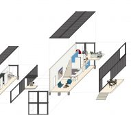 Amagansett Modular House by MB Architecture Isometric Drawing