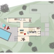 Amagansett Modular House by MB Architecture Ground Floor Plan