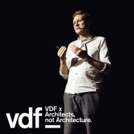 """I didn't want to become an architect at all"" says Reiulf Ramstad in VDF lecture"