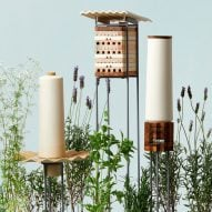 Seven shelters for city-dwelling bees