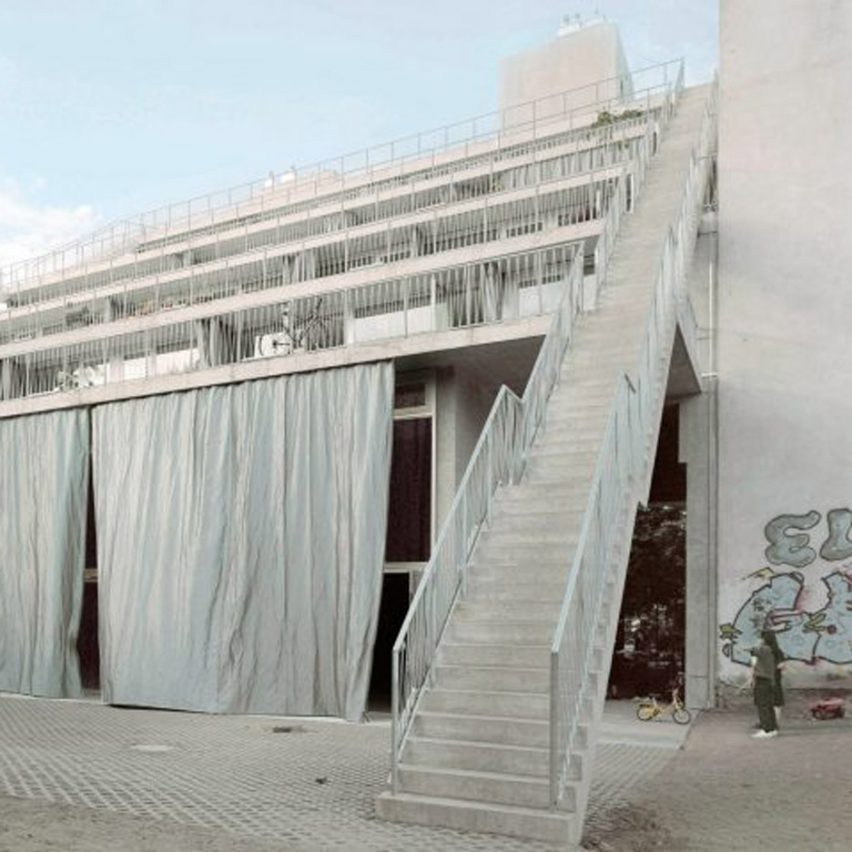 Terrassenhaus Berlin by Brandlhuber+ Emde, Burlon and Muck Petzet Architekten