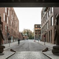 Theodora House housing block at Carlsberg Breweryin Copenhagen by ADEPT