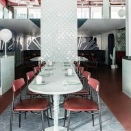 Cinnamon restaurant by Kingston Lafferty Design
