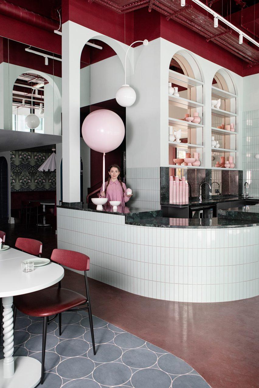 Cinnamon restaurant by Kingston Lafferty Design