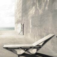 Concrete furniture by Doesn't Come Out and Cassius Castings