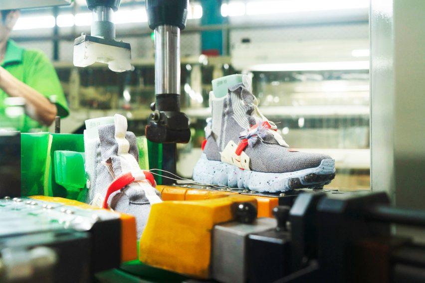 Nike's sustainable design lead Noah Murphy-Reinhertz.