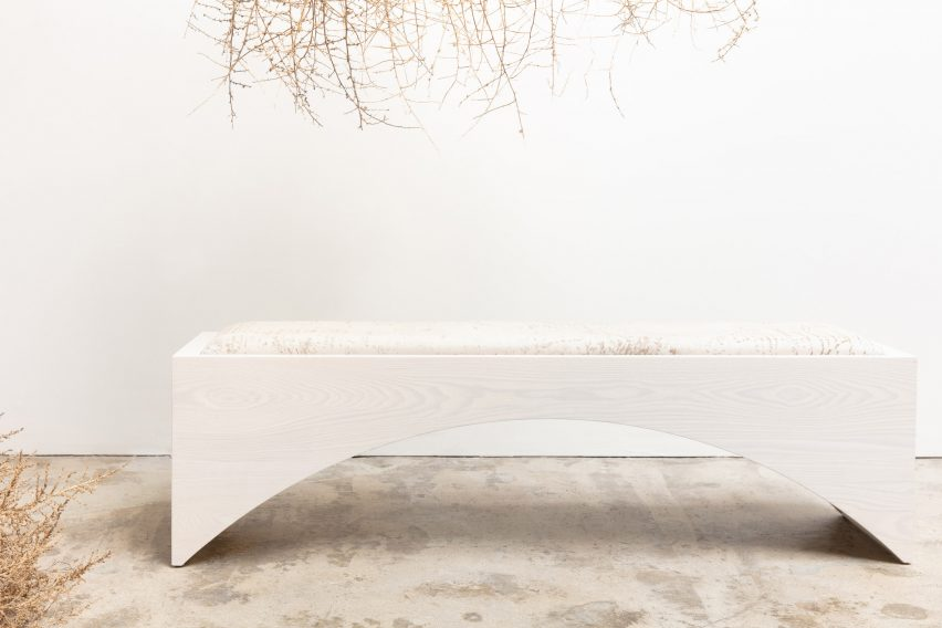 "Cuff Studio's furniture unites ""femininity with some testosterone"""