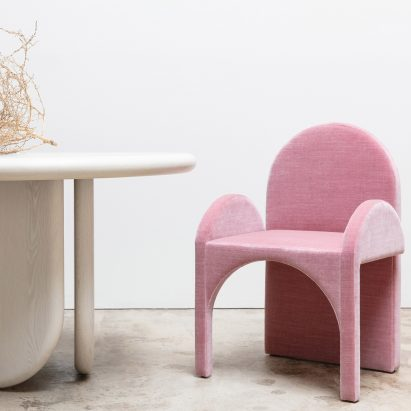 "Cuff Studio's furniture unites ""femininity with some testosterone"""