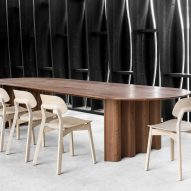 Curtain Table by Zeitraum