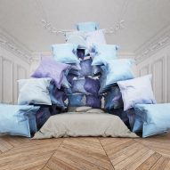 Cyril Lancelin conjures cosy image of staying home with Pillow Pyramid
