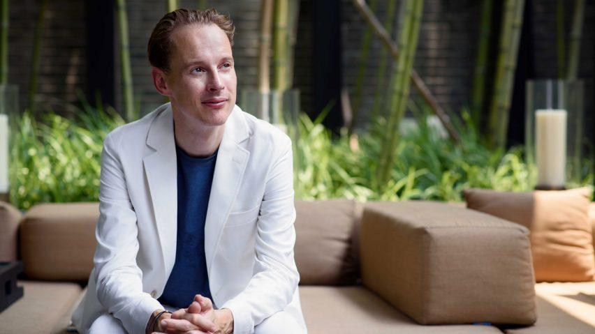 Daan Roosegaarde is a Dezeen Awards 2020 judge