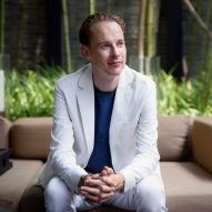 Daan Roosegaarde is a Dezeen Awards 2020 judge