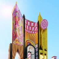 Adam Nathaniel Furman's Democratic Monument is a colourful concept for town halls