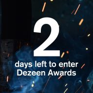 There are only two days left to enter Dezeen Awards 2020