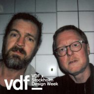 Live DJ set by Dirtytwo for VDF x Stockholm Design Week