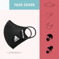 Adidas' reusable face mask features in today's Dezeen Weekly newsletter