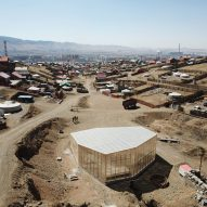 Rural Urban Framework builds tent-style community centre in Ulaanbaatar