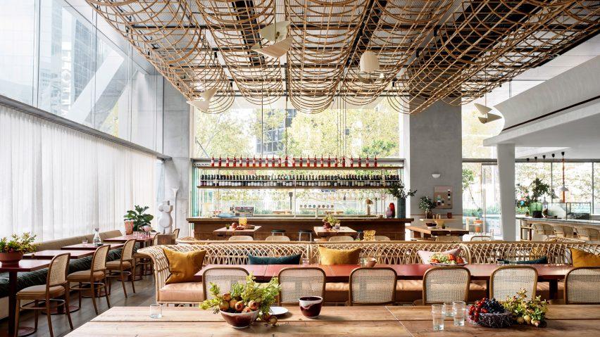 Glorietta restaurant designed by Alexander & Co