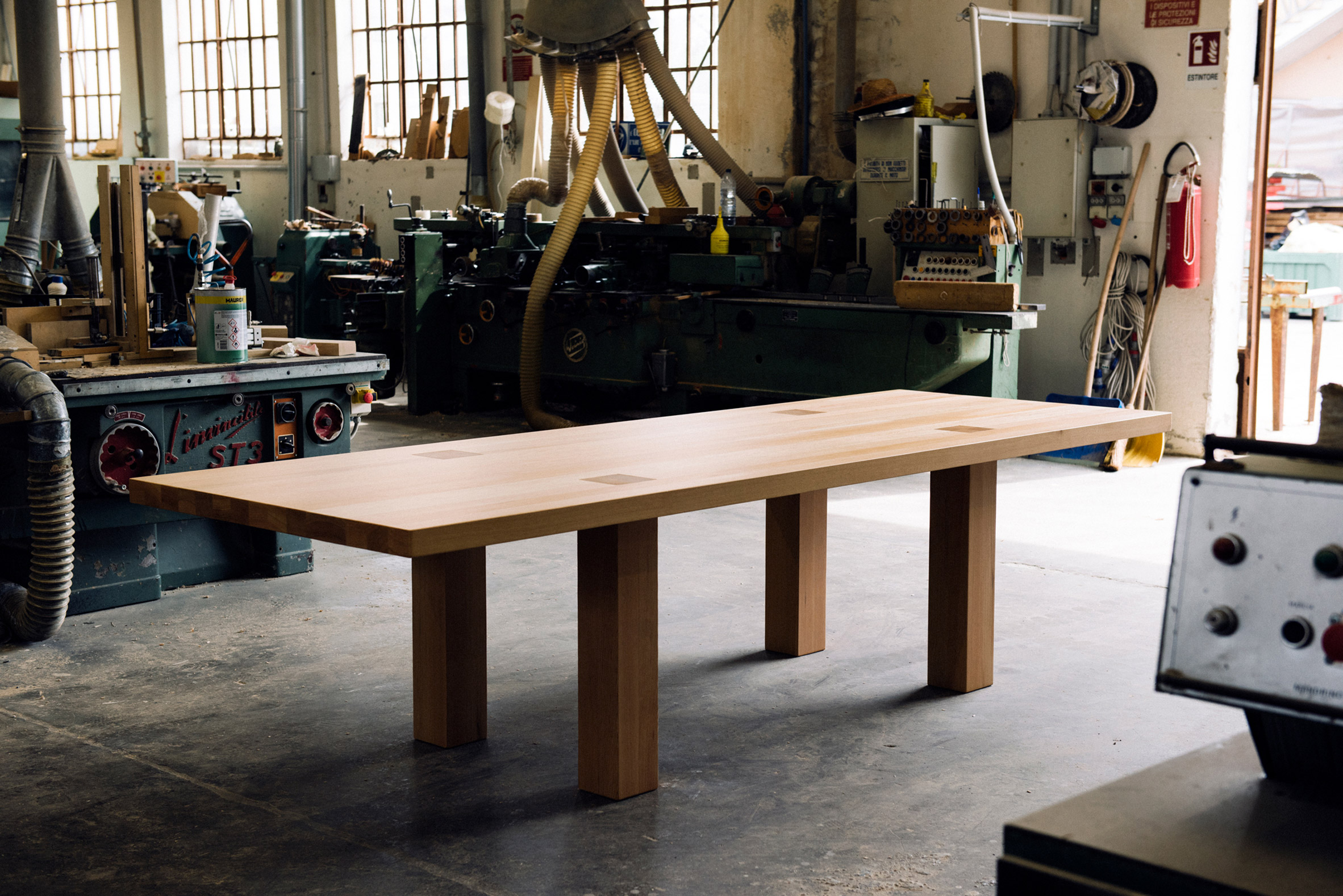 Hem shows production process behind Max Lamb's Max Table