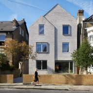 Alma-nac wraps London home in brick to create House-within-a-House