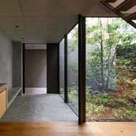 Tree rises up through centre of House in Yoga by Keiji Ashizawa Design