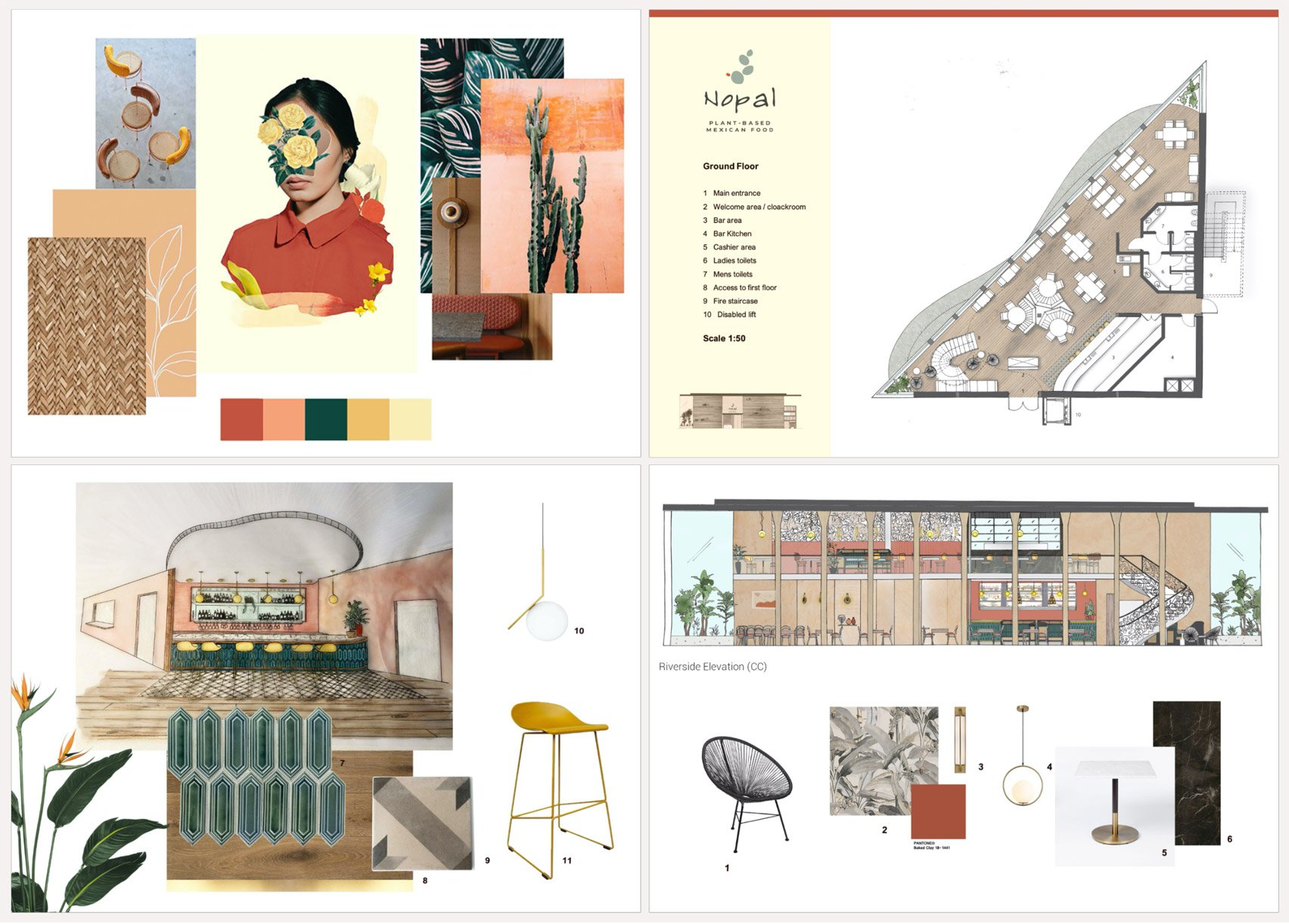 Interior Design Students At Chelsea College Of Arts Present Conceptual Restaurant And Bar Designs Architecture Design Competitions Aggregator