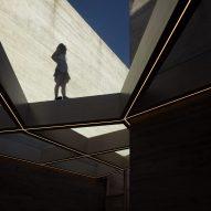 Centro de Interpretação do Românico, or Interpretation Center for the Romanesque, in Lousada, Portugal, by Spaceworkers